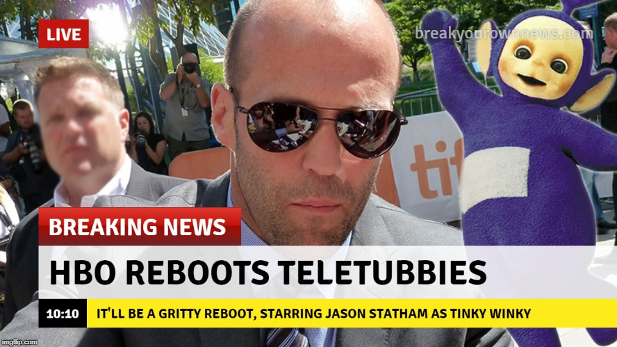 BREAKING NEWS | image tagged in memes,funny,dank memes,breaking news,hbo,teletubbies | made w/ Imgflip meme maker