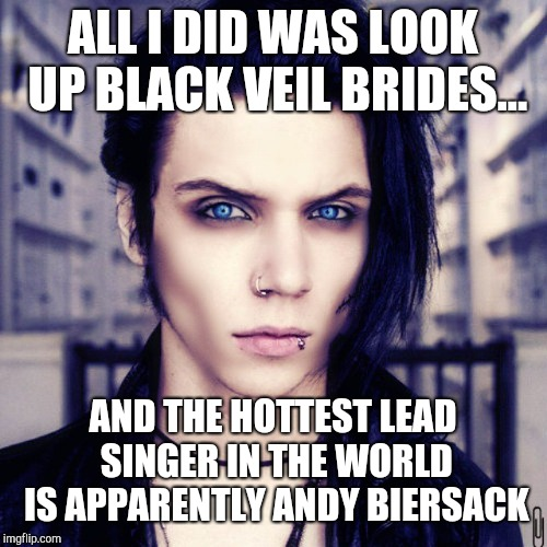 Join. All andy biersack hot are
