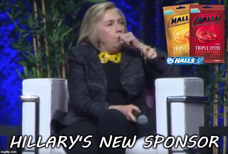 Hillary | HILLARY'S NEW SPONSOR | image tagged in clinton | made w/ Imgflip meme maker