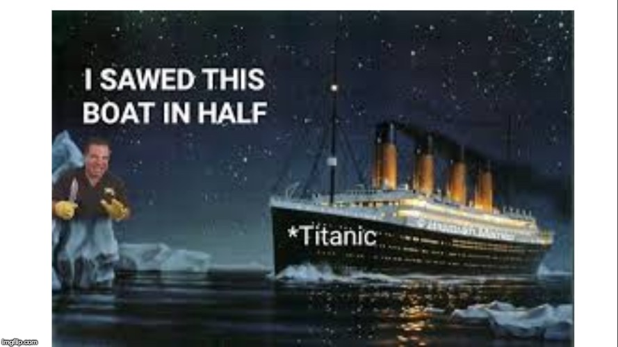 Phil Swift Killed Zack | image tagged in titanic,phil swift | made w/ Imgflip meme maker