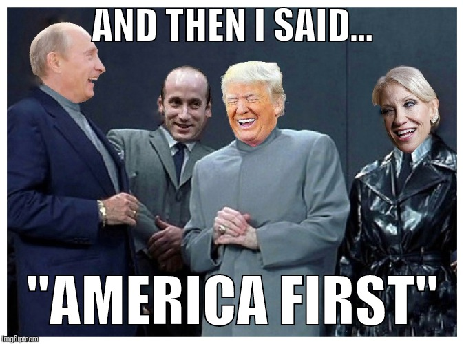 "AMERICA FIRST LOL | AND THEN I SAID... ""AMERICA FIRST"" 