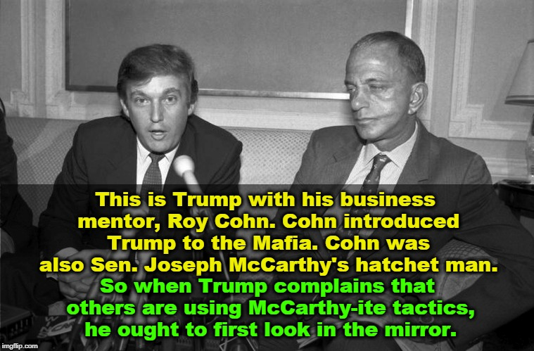 Image result for Photos Roy Cohn Sen McCarthy