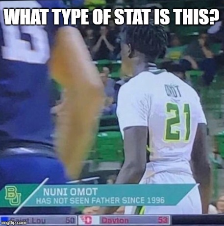 weird flex but ok | WHAT TYPE OF STAT IS THIS? | image tagged in memes,trhtimmy,sports | made w/ Imgflip meme maker