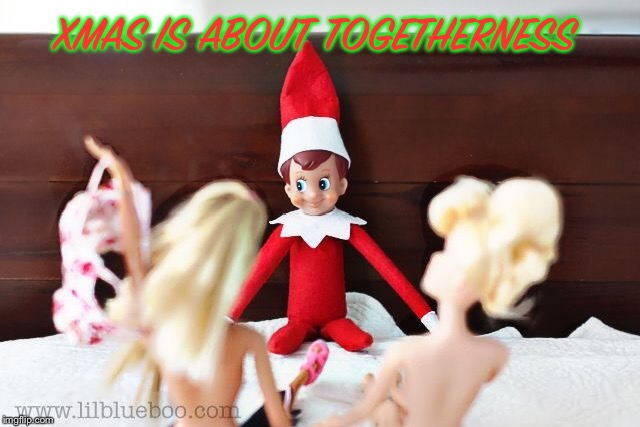 Merry Xmas | XMAS IS ABOUT TOGETHERNESS | image tagged in xmas | made w/ Imgflip meme maker