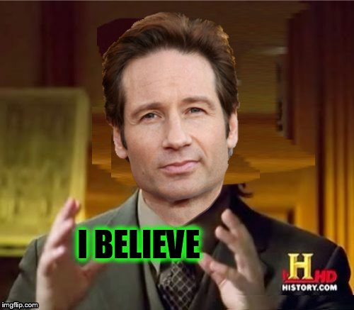 Fox Aliens | I BELIEVE | image tagged in fox aliens | made w/ Imgflip meme maker