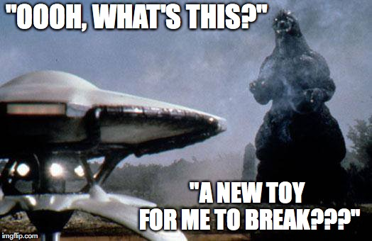 "New Toy! | ""OOOH, WHAT'S THIS?"" ""A NEW TOY FOR ME TO BREAK???"" 