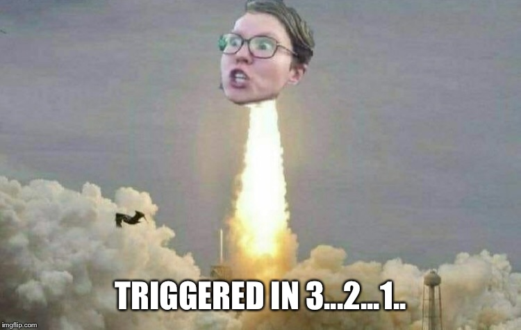 TRIGGERED IN 3...2...1.. | made w/ Imgflip meme maker