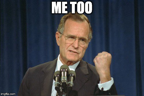 George Bush Gather | ME TOO | image tagged in george bush gather | made w/ Imgflip meme maker