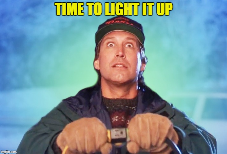 TIME TO LIGHT IT UP | made w/ Imgflip meme maker