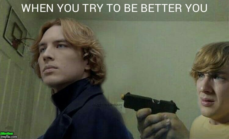 When You Realize The World Would've Been Much Better Off Without You!!!  | image tagged in american horror story,ahs,funny memes,michael langdon,cody fern,when you realize | made w/ Imgflip meme maker