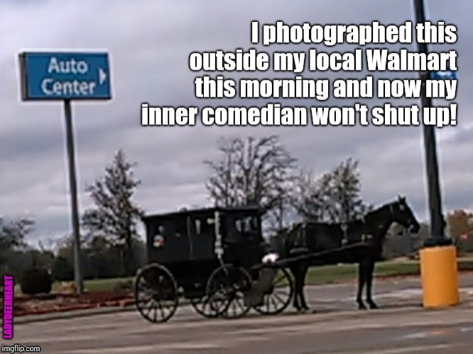 So Many Jokes.  So Little Time. | . | image tagged in amish car accident,amish,memes,meme,comedian,hilarious memes | made w/ Imgflip meme maker