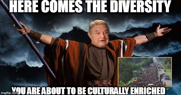 "No Surprise George Soros' Open Society Foundation is funding the groups organizing the ""Caravan"" 