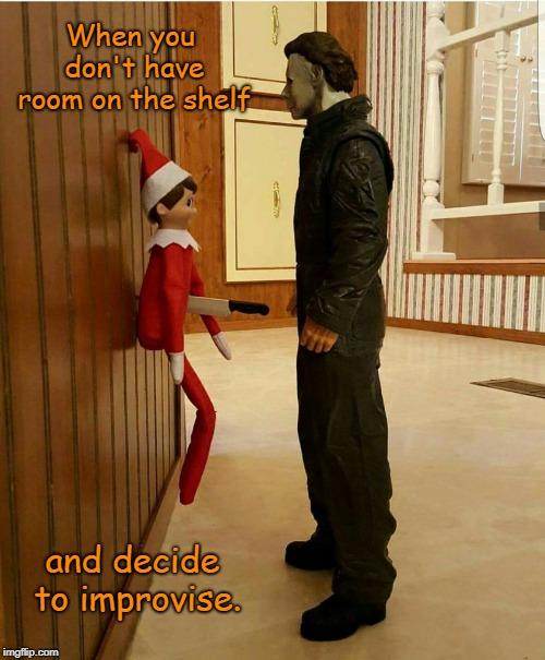 elf on the shelf Memes & GIFs - Imgflip
