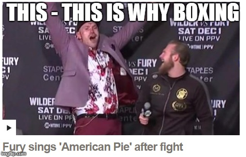 American Pie...but worse | THIS - THIS IS WHY BOXING | image tagged in boxing,fighting,funny,music,memes,american pie | made w/ Imgflip meme maker