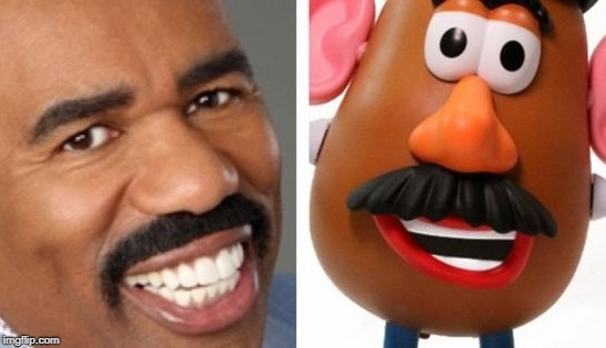 'nuff said | image tagged in 'nuff said,steve harvey,memes,funny,mr potato head | made w/ Imgflip meme maker