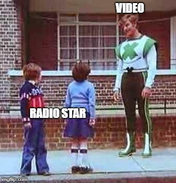 Poor Younglings | VIDEO RADIO STAR | image tagged in anakin skywalker,funny | made w/ Imgflip meme maker