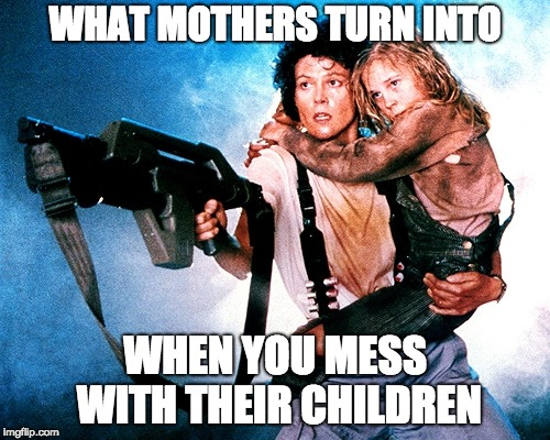 Mothers Protect | WHAT MOTHERS TURN INTO WHEN YOU MESS WITH THEIR CHILDREN | image tagged in mothers protect | made w/ Imgflip meme maker