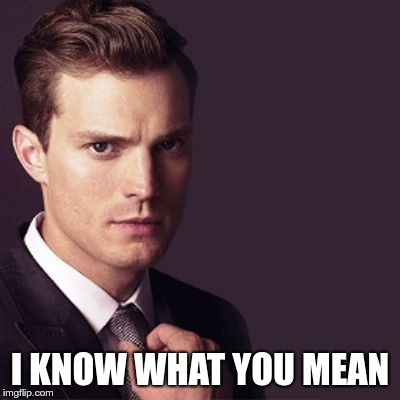 Mr Grey | I KNOW WHAT YOU MEAN | image tagged in mr grey | made w/ Imgflip meme maker