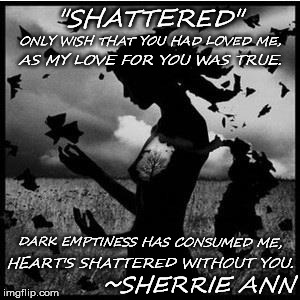 """Shattered"" 