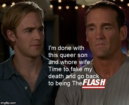 Mitch The Flash Leery | image tagged in the flash | made w/ Imgflip meme maker
