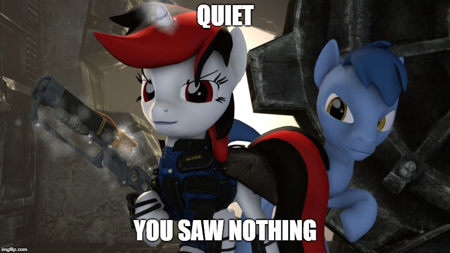 QUIET YOU SAW NOTHING | image tagged in quiet you saw nothing | made w/ Imgflip meme maker