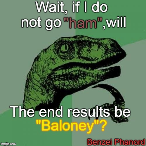 """HAM"" or ""BALONEY"" 