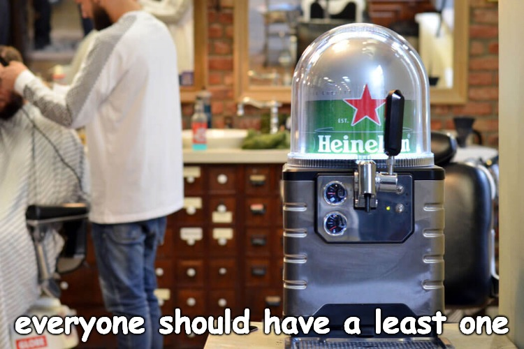The Blade Beer Dispenser..... need I say more? Okay BEER. | everyone should have a least one | image tagged in beer,beers,hold my beer,cold beer here | made w/ Imgflip meme maker
