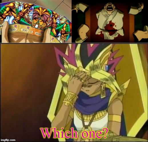 Exodia or Buppa | Which one? | image tagged in yugioh,anime meme,animeme | made w/ Imgflip meme maker