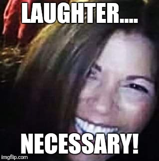 Laughter | LAUGHTER.... NECESSARY! | image tagged in mark | made w/ Imgflip meme maker