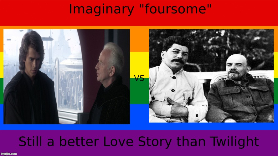 Empire vs Empire or Still a better Love Story than Twilight | image tagged in still a better love story than twilight | made w/ Imgflip meme maker