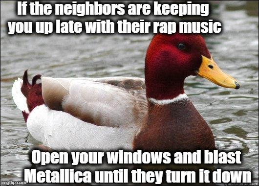 """Bad Advice"" mallard 