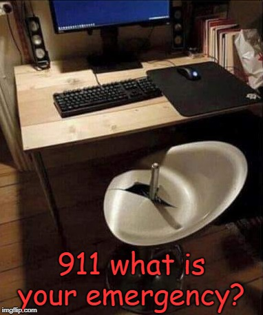 uhmmmmmmmm |  911 what is your emergency? | image tagged in joke,911 | made w/ Imgflip meme maker