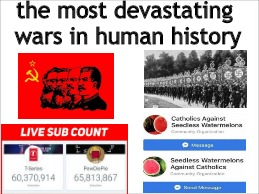 I can't believe we survivied them | the most devastating wars in human history | image tagged in wwii,ussr,pewdiepie,catholicism,memes | made w/ Imgflip meme maker