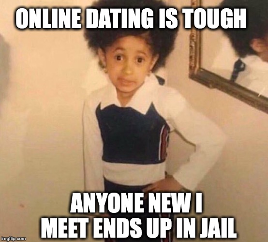 Online dating jail