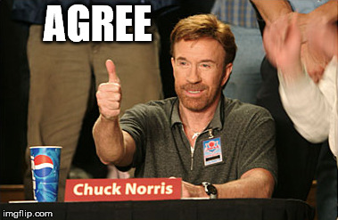 Chuck Norris Approves Meme | AGREE | image tagged in memes,chuck norris approves,chuck norris | made w/ Imgflip meme maker