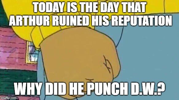 Arthur Fist Meme , Imgflip