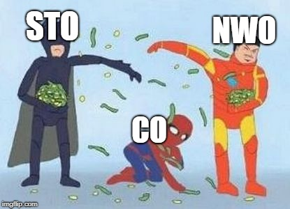 Pathetic Spidey Meme | STO NWO CO | image tagged in memes,pathetic spidey | made w/ Imgflip meme maker