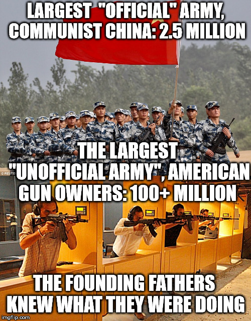 "In WWII Japanese Adm Yamamoto warned ""We can never invade America. There will be a gun behind every bush"" 