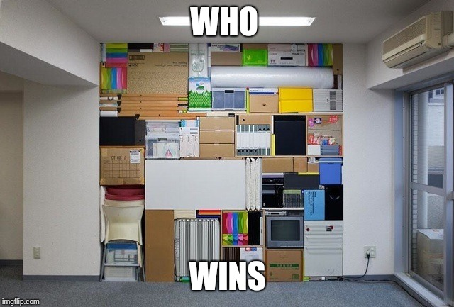 Tetris | WHO WINS | image tagged in tetris | made w/ Imgflip meme maker