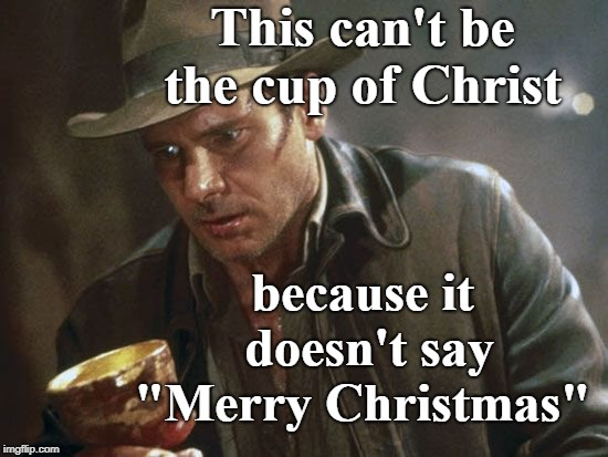 "I don't care if people say ""merry Christmas"" or ""happy holidays""  