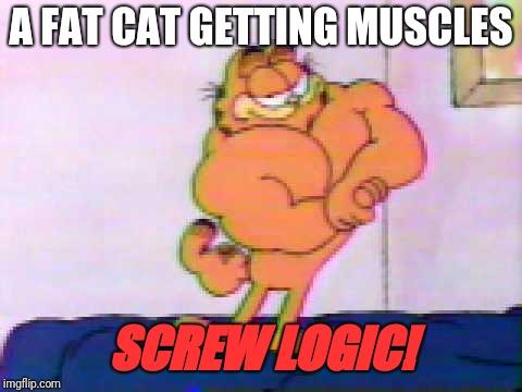 Muscular Garfield The Cat Imgflip