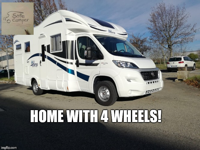 HOME WITH 4 WHEELS! | made w/ Imgflip meme maker