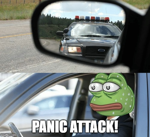 Panic Attack! |  PANIC ATTACK! | image tagged in cars | made w/ Imgflip meme maker