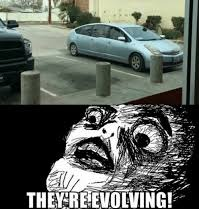 The're Evolving! | image tagged in cars | made w/ Imgflip meme maker