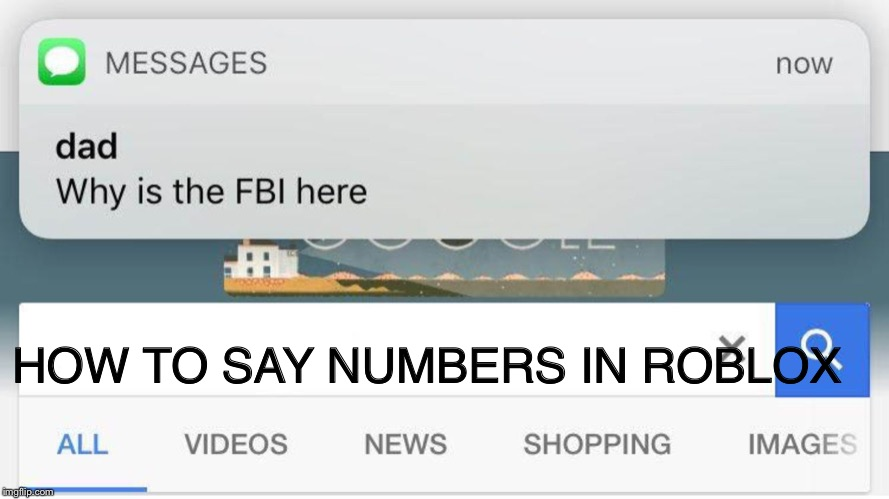 How To Say Numbers On Roblox 2020