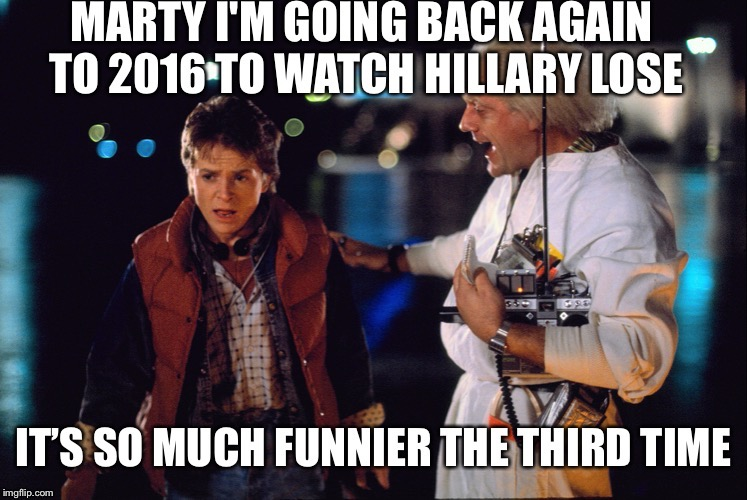 Back To The Election | image tagged in btte,doc and marty | made w/ Imgflip meme maker