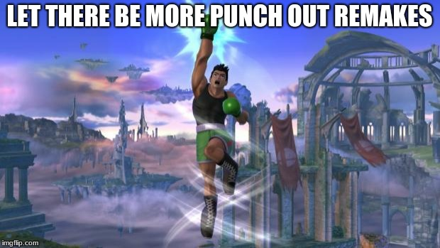 """I have the power"" with Little Mac 