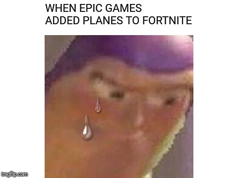 Why Are Planes Even Necessary? | WHEN EPIC GAMES ADDED PLANES TO FORTNITE | image tagged in fortnite,funny,memes,dank memes | made w/ Imgflip meme maker