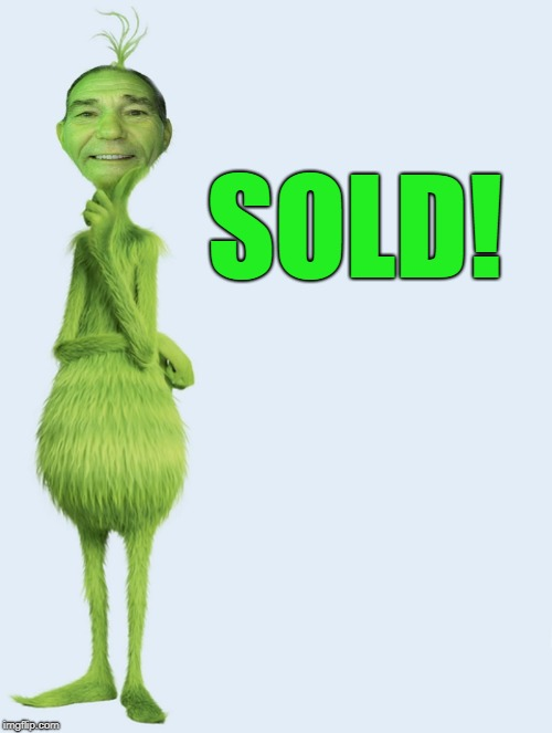 SOLD! | image tagged in kewlew | made w/ Imgflip meme maker