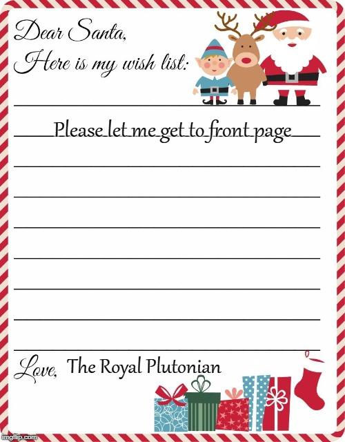 Christmas List Maker.Christmas Wish List Memes Gifs Imgflip